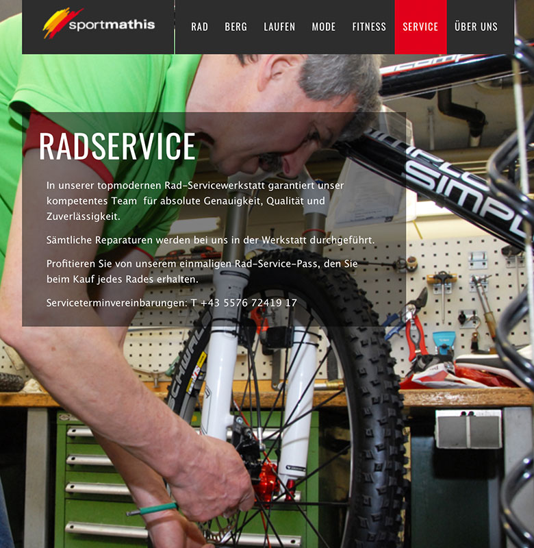 Sport Mathis Website